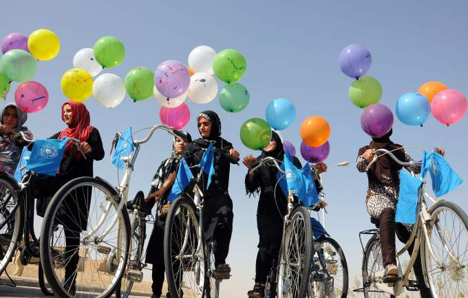 TOPSHOTS-AFGHANISTAN-SOCIETY-WORLD PEACE DAY