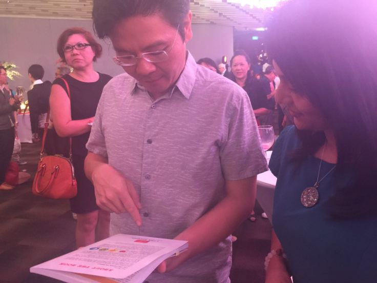 With Minster Lawrence Wong. (Source: Prionka Ray©)