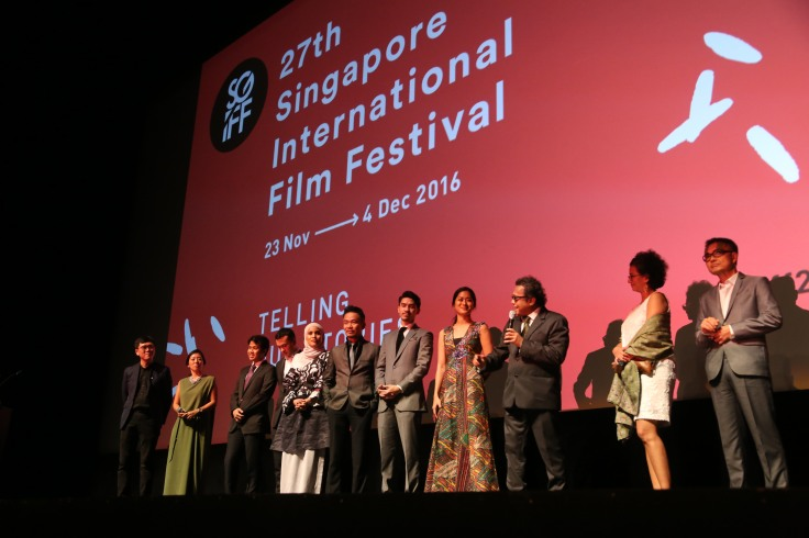 Asian premiere of Interchange at the 27th SGIFF. (Photo credit Bonnie Yap, SGIFF)