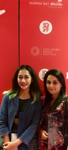 With Indonesian Film maker, Nia Dinata