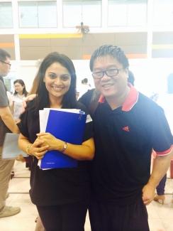 With poet, founder, Squircle Line Press) Desmond Kon Zhicheng-Mingde