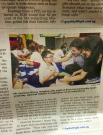 Media Coverage for POSB Kidswrite, with Minister L Wong