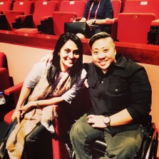 With Theresa Goh, Swimmer, Paraolympian, Medalist, Rio Games