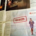 UNISIM Advertisement Campaign, Straits Times