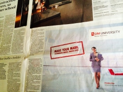 Advertisement Campaign, Straits Times