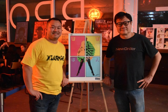 SINdie's Jeremy Sing and filmmaker Eric Khoo