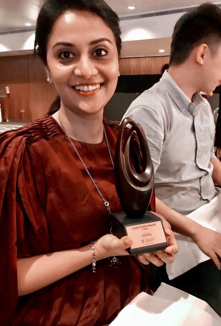 Volunteer Award, Ministry of Social & Family Development