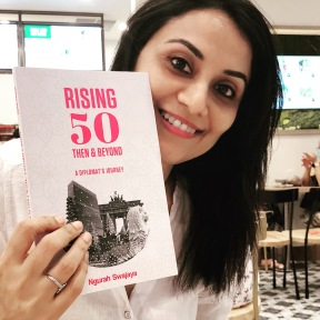Rising 50, Then & Now. Co-written the Biography of Ambassador Swajaya